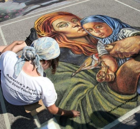 Bronze medal in Masterclass at 41th International Madonnari competition in Grazie!