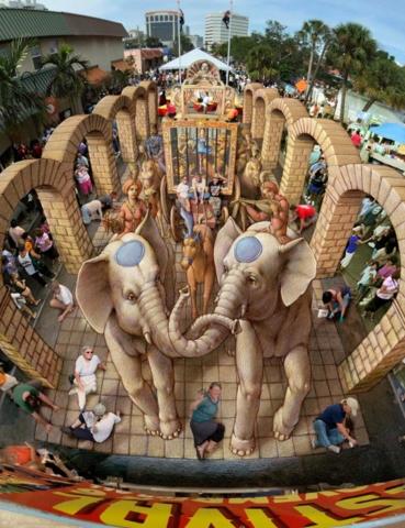 kurtwenner verabugatti streetart arteurbana illusioniottiche 3Dstreetart anamorfosi anamorfico anamorphic illusions urbanart madonnari3D pavementart 3Dstreetart 3Dstreetpainting environment thereisnotplanetb elephant