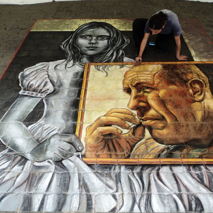 Featured at Ireland Chalk Fest 2011