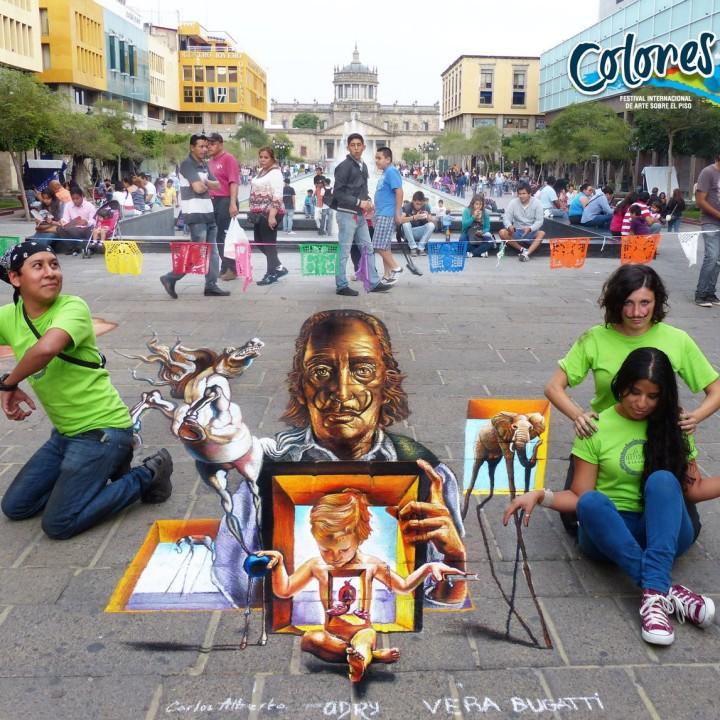 MEXICO! Featured Artist at Colores de Jalisco 2013, Guadalajara