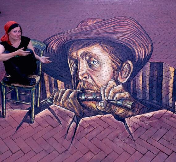 3D Street Art at 2nd World Streetpainting festival in Arnhem