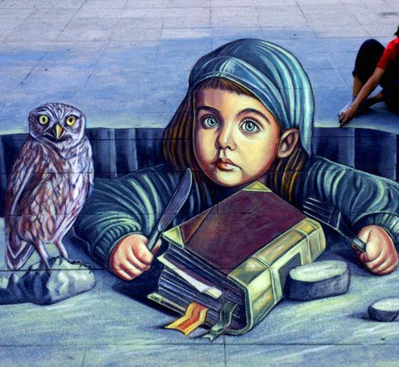 Arte urbana anamorfica a Cagliari