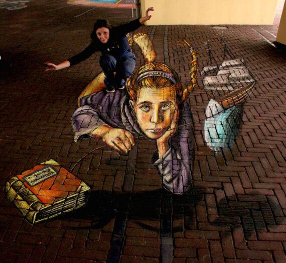 Street ART fest Den Haag & my Flying Dutchman