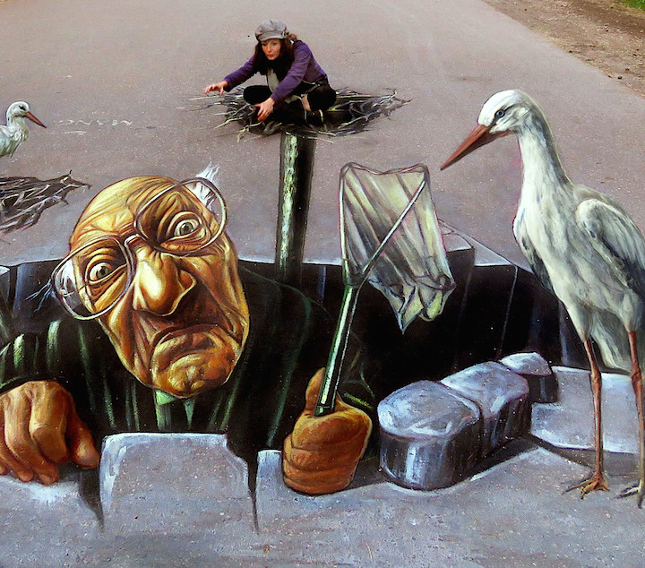 3D street art festival 'Illusions of RIGA' 2016