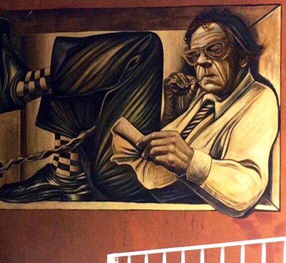 Anamorphic mural and oniric travel @ DOTS 2017 in Poggibonsi