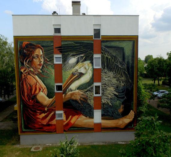 Abnegation Dream, a huge mural in Vukovar!