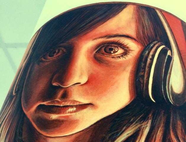 verabugatti streetart murals walls arteurbana illusioniottiche 3Dstreetart anamorfosi arte3D siamodipassaggio library marcheno brescia biblioteche lettura