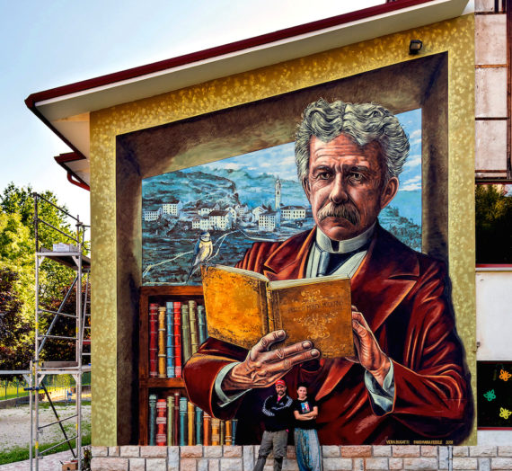 Fogazzaro and his books in Tonezza del Cimone