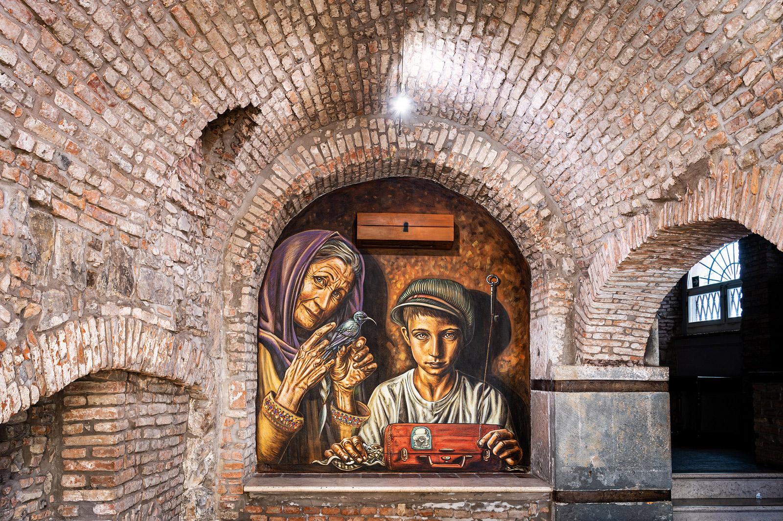 Vera Bugatti Handala Dukka Brescia Palestina